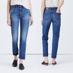 Madewell Perfect Vintage Skinny High Rise Jeans 24